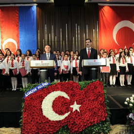 Bakıda Türkiyə Cümhuriyyətinin 95 illiyinə həsr olunmuş rəsmi təntənəli tədbir keçirildi