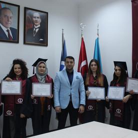 18 Yanvar 2020-ci il tarixində məzunlara diplomları təqdim olundu.