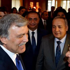 Türkiyə Respublikasının 11-ci prezidenti Abdullah Gülün şərəfinə rəsmi ziyafət təşkil olunub