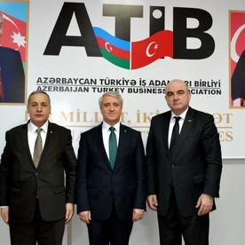 Anadolu Universitetinin rektoru Prof. Dr. Naci Gündoğan ATİB ofisində qonaq oldu