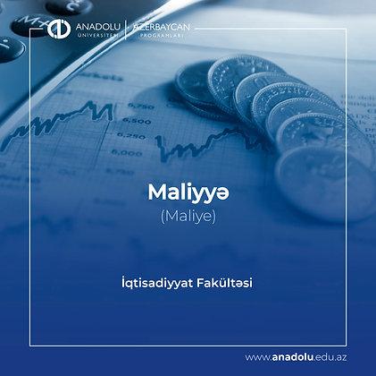 Maliyyə - Maliye
