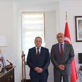 Azər Hətəmov Gəncə Baş Konsulu  Orhan Işıkla görüşmüşdür.