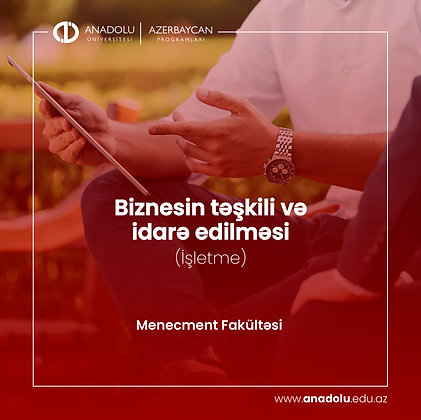 Biznesin təşkili və idarə edilməsi (İşletme)
