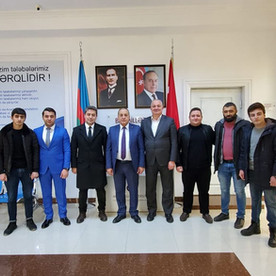 """Türkiyənin """"TRT AZƏRBAYCAN"""" Təmsilçiliyinin Başkanı Anadolu Universiteti Azərbaycan Proqramlarında."""