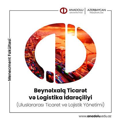 Beynəlxalq Ticarət və Logistika İdarəçiliyi (Uluslararası Ticaret ve Lojistik Yö