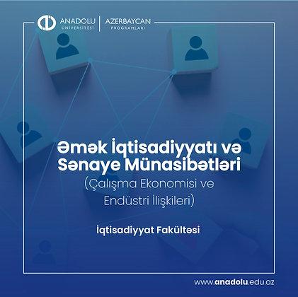 Əmək İqtisadiyyatı və Sənaye Münasibətləri (Çalışma Ekonomisi ve Endüstri İlişki