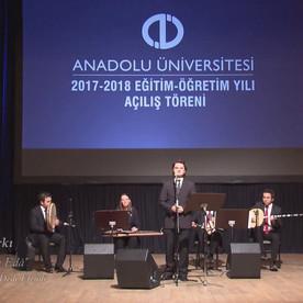 Anadolu Üniversitesi Azerbaycan Programları 2017-2018 yeni ders yılının açılış töreni.