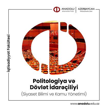 Politologiya və Dövlət İdarəçiliyi (Siyaset Bilimi ve Kamu Yönetimi)
