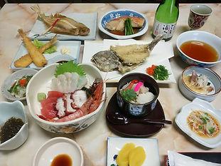 大高森観光ホテル 夕食