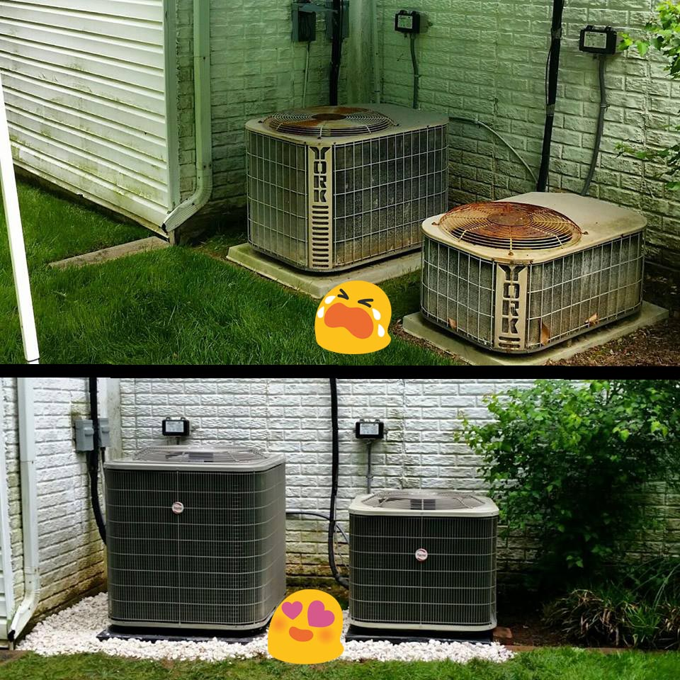 air-conditioning-replacement-before-and-after-maryland