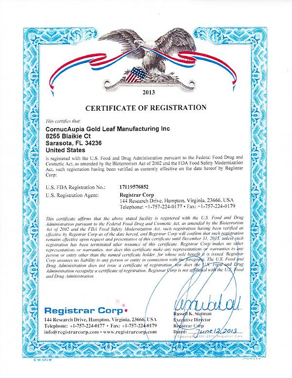 www_CornucAupia_com-FDA-CERT-CornucAupia