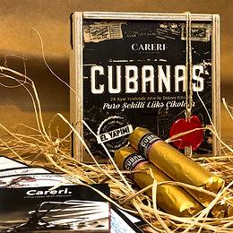 Cubanas 10'lu Ahşap Kutu
