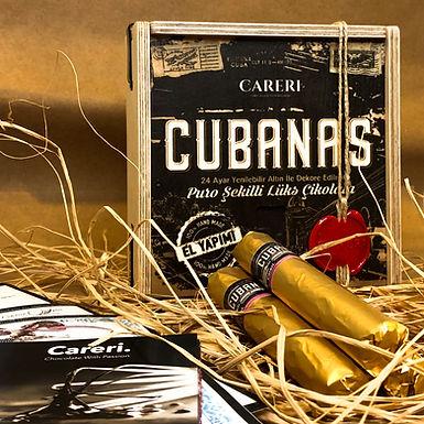 Cubanas 5'li Ahşap Kutu