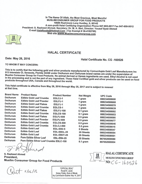 2016-Halal-Certification-CornucAupia-Gol