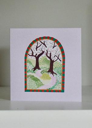 The Garden Cards x 5