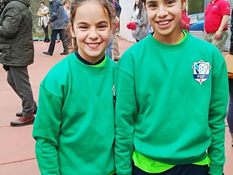 Uxía y Aitana convocadas con la selección sub-12 para la fase final del campeonato gallego de selecc