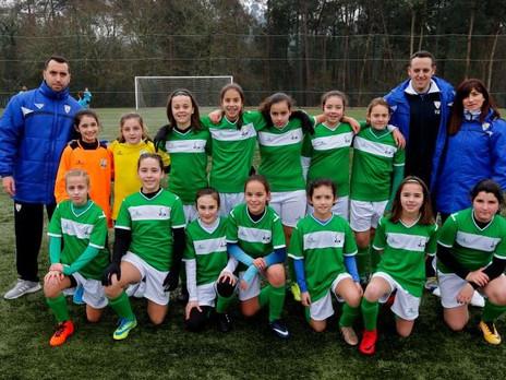 La selección Femenina Sub-12 con Aitana y Uxía logran la clasificación para la fase final.