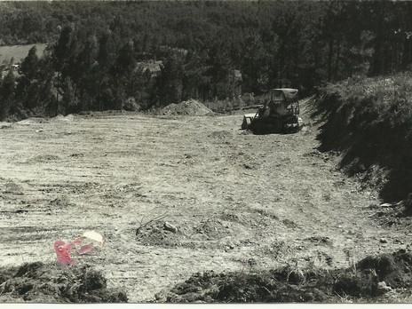 50 años dan para mucho, desmonte Campo de Os Pinares 1968.