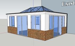 CAD Design - Orangery
