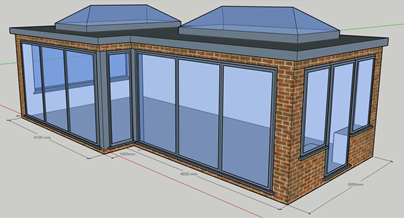Cad Drawing  - Orangery