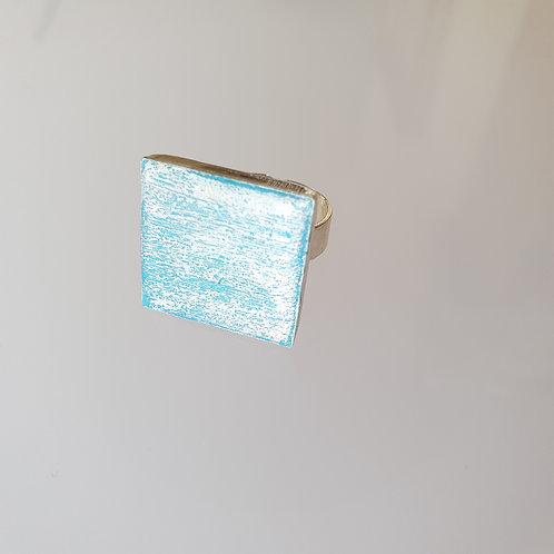 Hologramos négyzet gyűrű