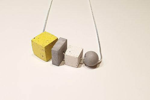 Egyedi beton lánc