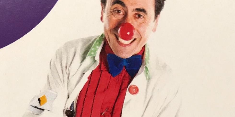 Rodney Afif (Dr. Achoo!) Clown Doctor - Royal Children's Hospital