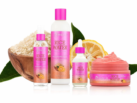 **NEW** MIELLE LAUNCHES RICE WATER COLLECTION TO HELP STRENGTHEN HAIR