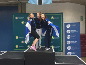 Salle Ossian makes History at the Commonwealths