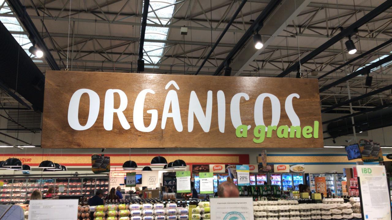 Comunicacao visual - Organicos A granel.