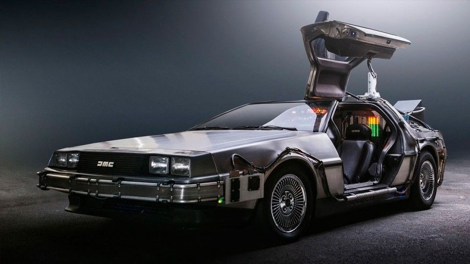 Google delorean
