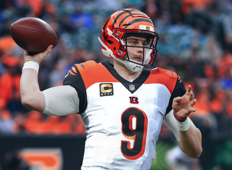 The Drafter Effects:                                        Joe Burrow to the Bengals