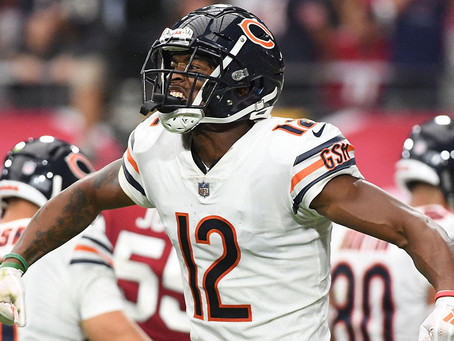 Bears' Battery - Trubisky and Robinson