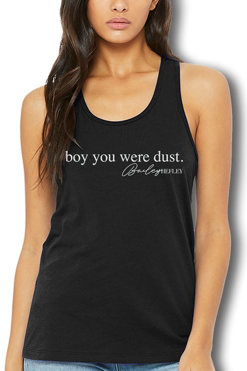 Bailey Hefley (Boy You Were Dust) Black Tank