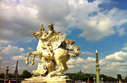 At the Place de la Concorde