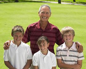 Golf com Grandpa