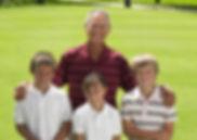 おじいちゃんとゴルフ