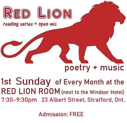 Red Lion Reading Series and Open Mic Log