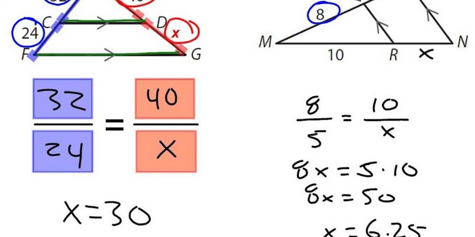 Proportionality & Similarity Webinar