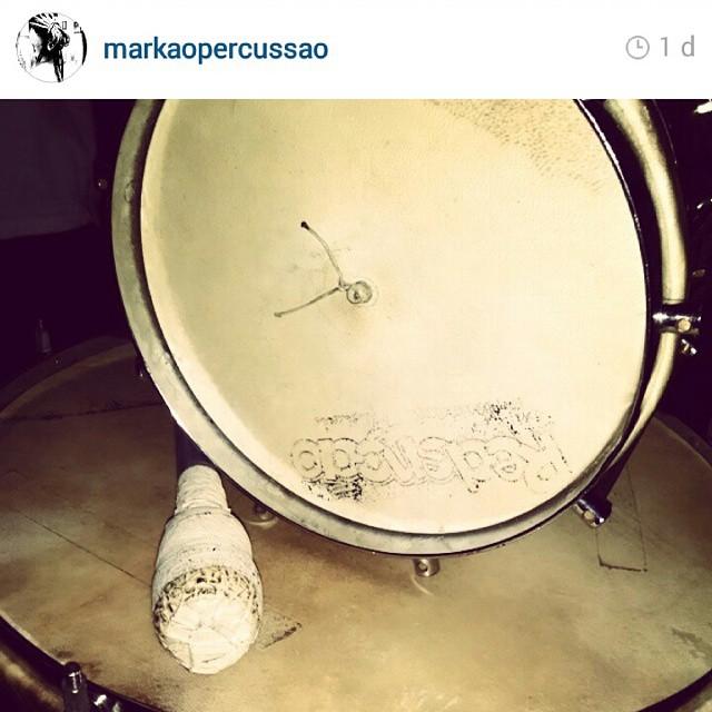 Instagram - #TeamRedenção @markaopercussao