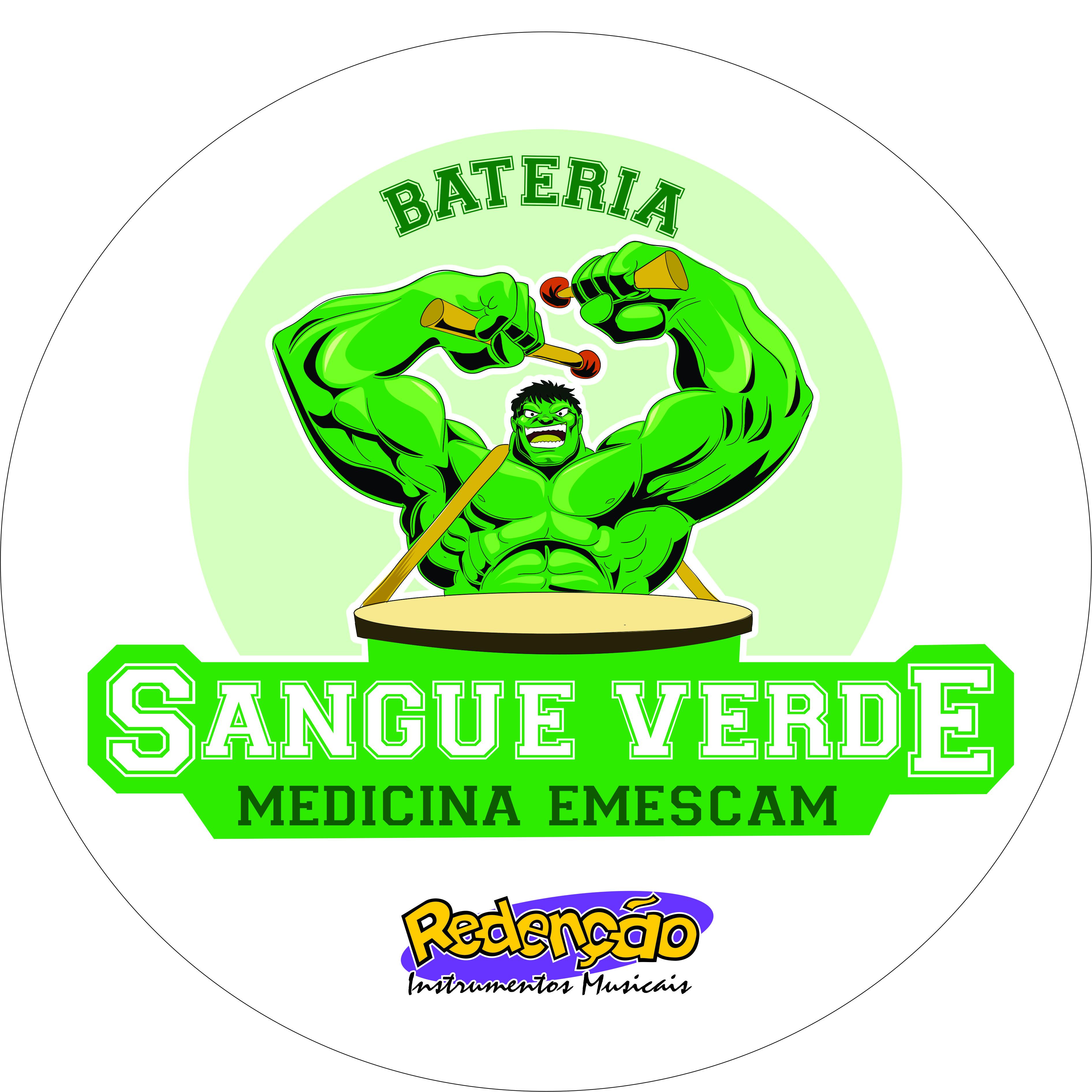 bateria sangue verde