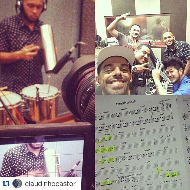 Instagram - #Repost @claudinhocastor ・・・ Gravação  de hj foi com esse time de pr