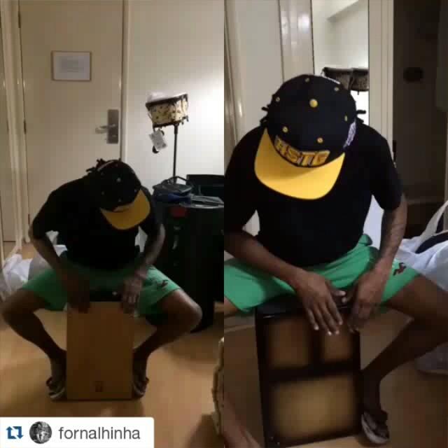 Instagram - #Repost @fornalhinha ・・・ Mais um novo brinquedo CAJON BONGÔ da @rede