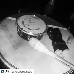 Instagram - #Repost @markaopercussao ・・・ Então vamo lá.... Mais um dia graças a