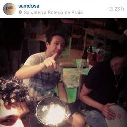 Instagram - #TeamRedenção @Samdosa