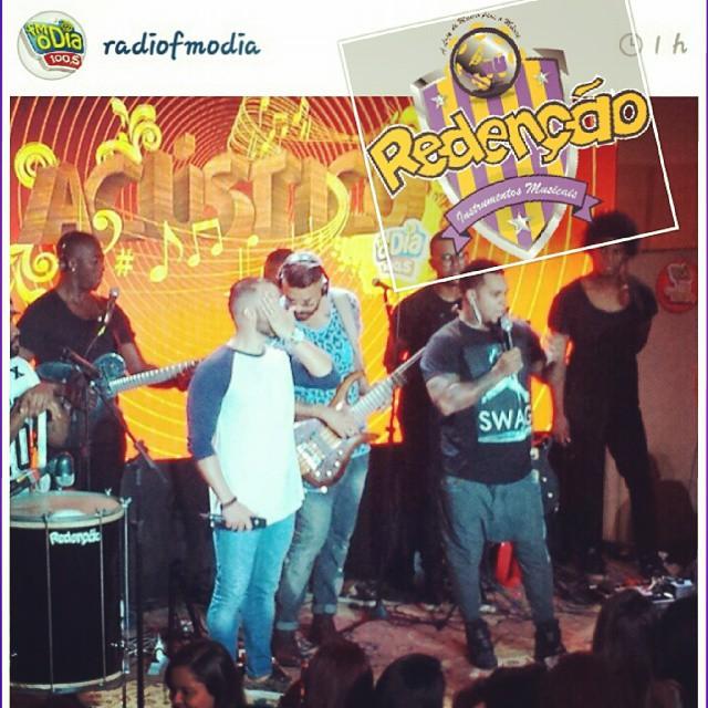 Instagram - #TeamRedenção @radiofmodia