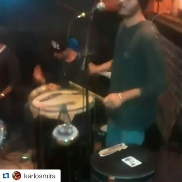 Instagram - #Repost @karlosmira ・・・ Foco, força e samba! #sambateria #percussão