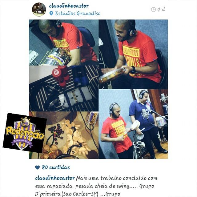 Instagram - #TeamRedenção @claudinhocastor
