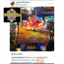Instagram - #TeamRedenção @rogerinhobalanco