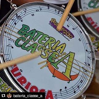 Instagram - @bateria_classe_a #TeamRedenção #TimedeRespeito #TocaRedenção